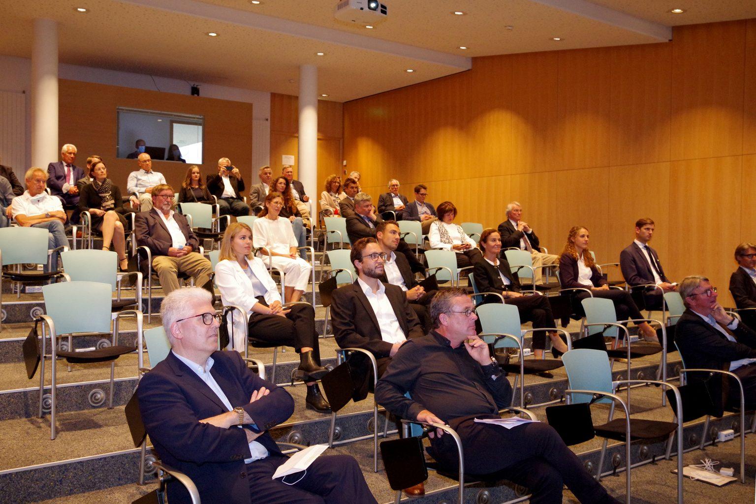 The auditorium of the Freiburg Dental Center