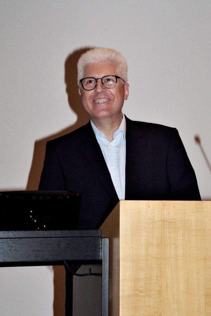 ITI Section chair Professor Kleinheinz